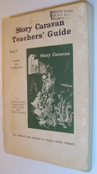 Image for Story Caravan Teacher's Guide - Book 7: Canadian Basic Reading Series