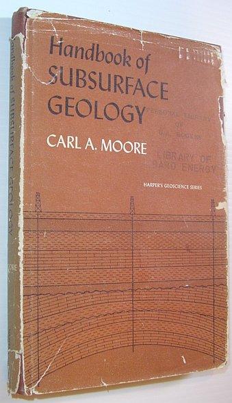 Image for Handbook of Subsurface Geology - Harper's Geoscience Series
