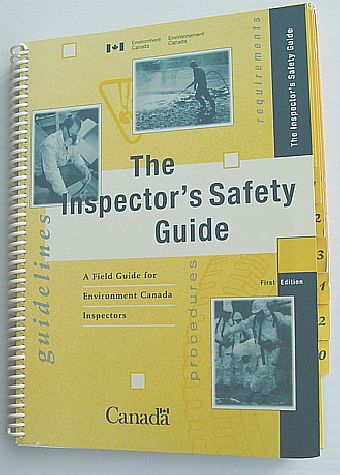 Image for The Inspector's Safety Guide : A Field Guide for Environment Canada Inspectors
