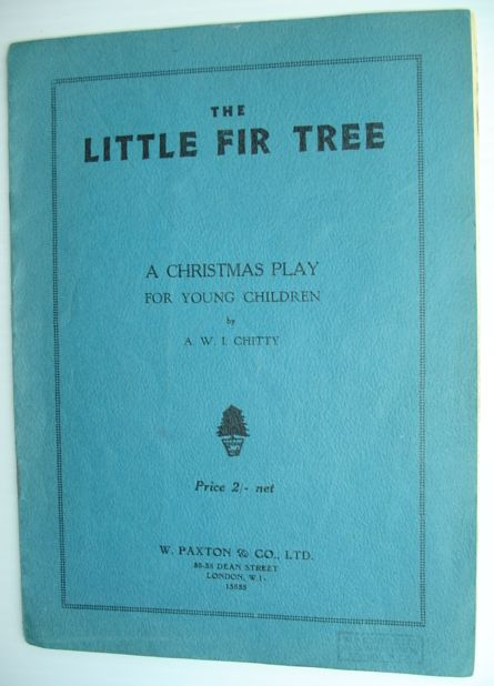 Image for The Little Fir Tree - A Christmas Play for Young Children
