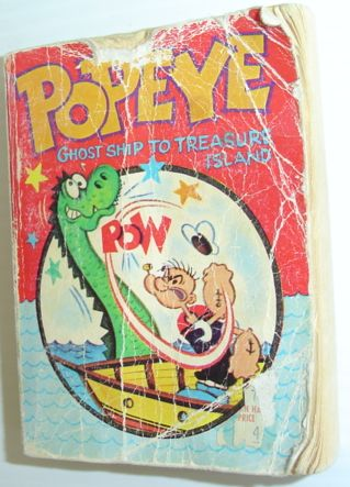 Popeye in Ghost Ship to Treasure Island, Newman, Paul S.