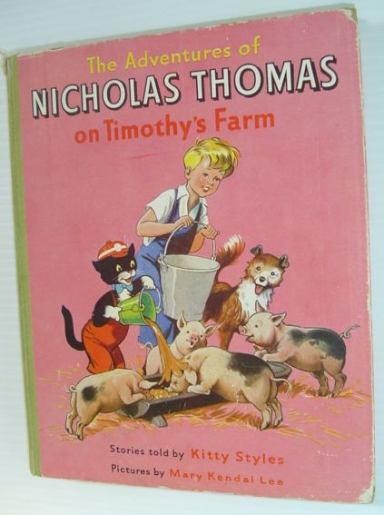 Image for The Adventures of Nicholas Thomas on Timothy's Farm
