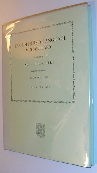 Image for English-Jersey Language Vocabulary