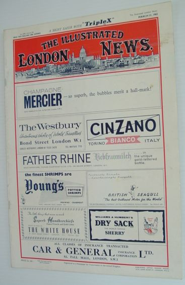 The Illustrated London News - March 31, 1962, Various Contributors