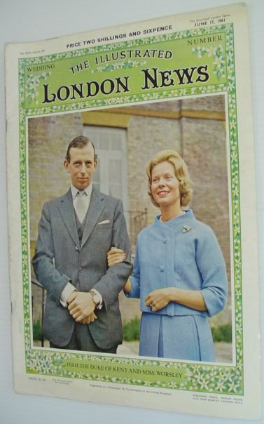 The Illustrated London News - June 17, 1961 *SPECIAL EDITION FEATURING THE MARRIAGE OF THE DUKE AND DUCHESS OF KENT*, Various Contributors
