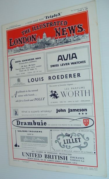 The Illustrated London News - June 4, 1960, Various Contributors