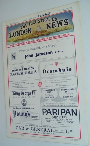 The Illustrated London News - April 23rd, 1960, Various Contributors
