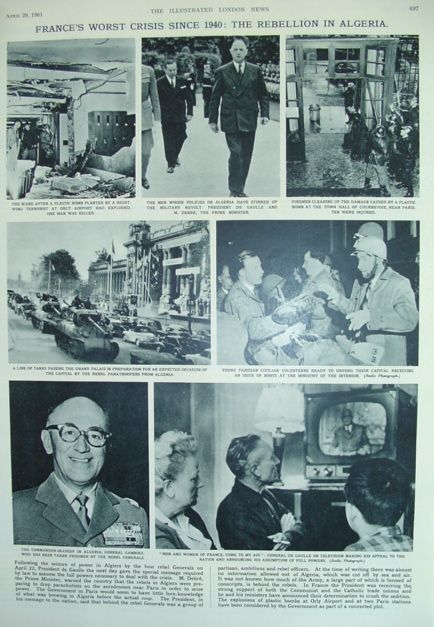The Illustrated London News - April 29, 1961, Various Contributors