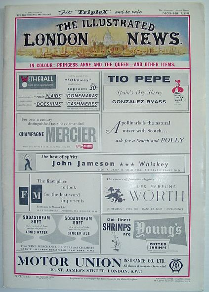 The Illustrated London News - December 12, 1959, Various Contributors