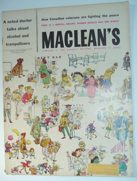 Maclean's Magazine - February 15, 1958, Multiple Contributors