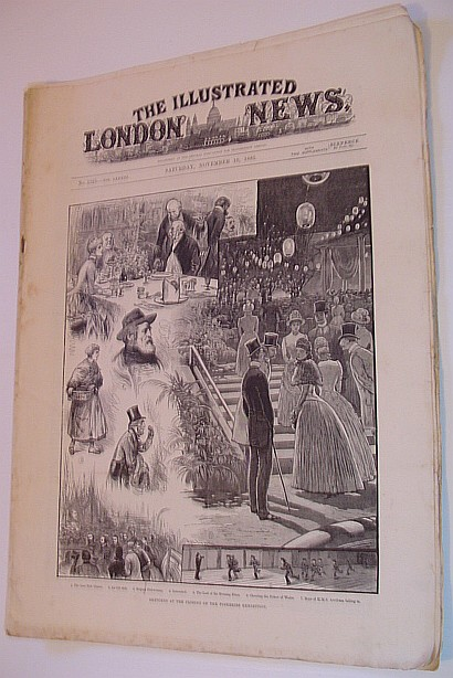 Image for The Illustrated London News, Saturday, November 10, 1883 Vol. LXXXIII - No. 2325
