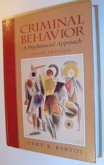 Image for Criminal Behavior: A Psychosocial Approach (5th Edition)
