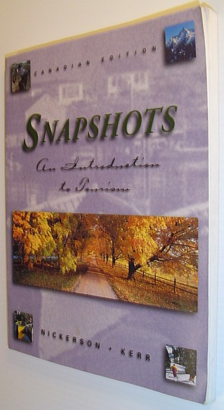 Image for Snapshots : An Introduction to Tourism
