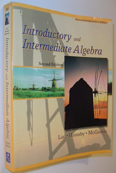 Image for Introductory and Intermediate Algebra *SECOND EDITION - ANNOTATED TEACHER'S EDITION*