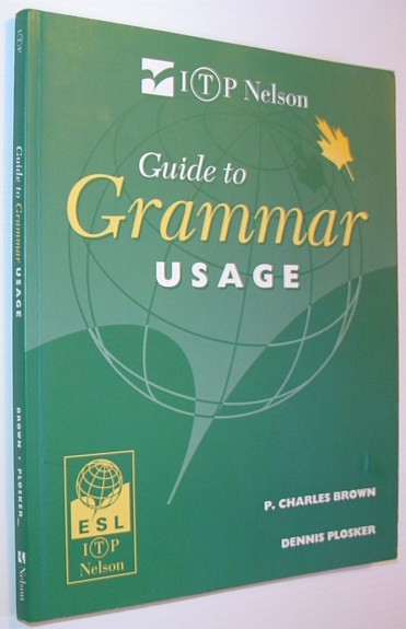 Image for Guide to Grammar Usage