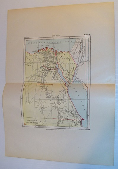 Image for Map of Egypt - Circa 1902