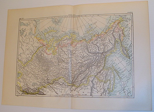 Image for Map of Siberia - Circa 1902
