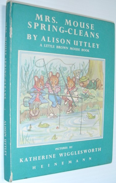 Image for Mrs. Mouse Spring-Cleans - Little Brown Mouse Book No. 5