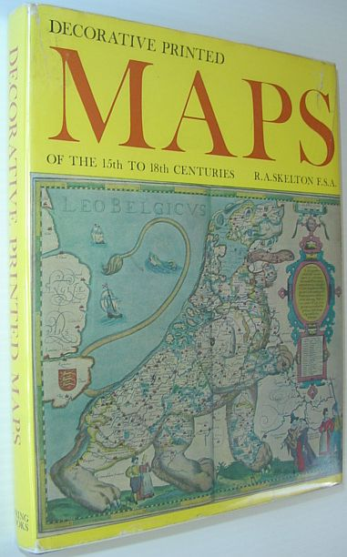 Image for Decorative Printed Maps of the 15th to 18th Centuries