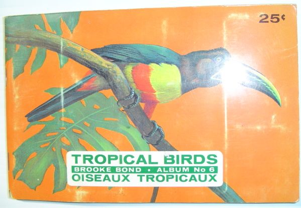 Tropical Birds: Brooke Bond Album No. 6, Author Unstated