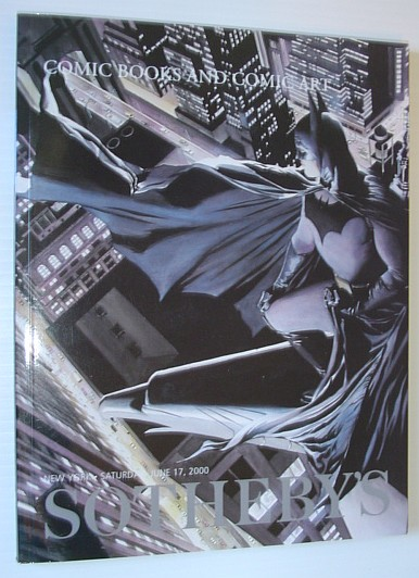 Image for Comic Books and Comic Art: Sotheby's Sale # 7497, Saturday June 17, 2000