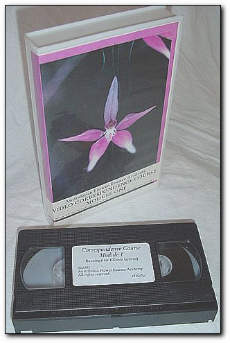 Image for Australasian Flower Essence Academy - Video Correspondence Course - Module 1: VHS Video Tape *PAL Format*