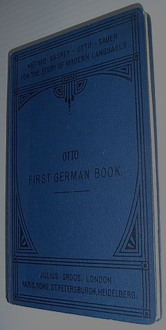 Image for First German Book - Method Gaspey-Otto-Sauer