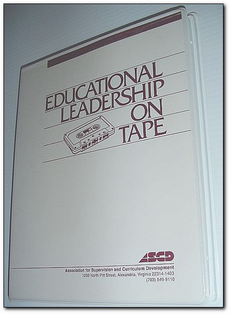 Image for Educational Leadership on Tape: 8 Audio Cassettes in Case