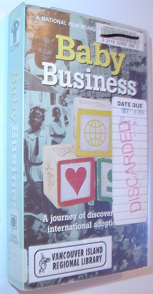 Image for Baby Business - A Journey of Discovery in International Adoption: VHS Video Tape in Case