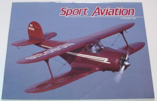 Sport Aviation Magazine - November 1989, Multiple Contributors