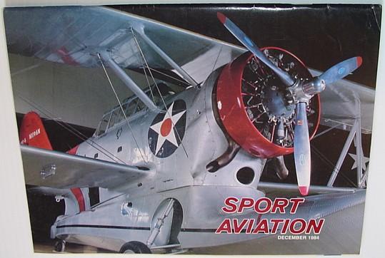 Image for Sport Aviation Magazine - December 1984