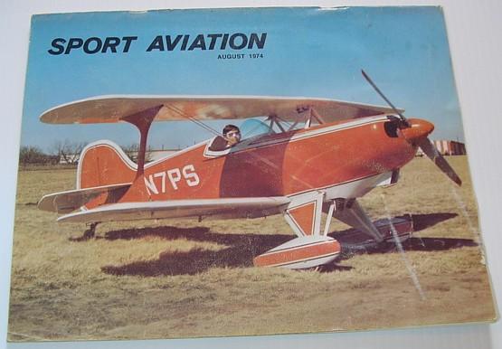 Sport Aviation Magazine May 1981 Lift and Thrust TM-5 Wing Modification Minibat
