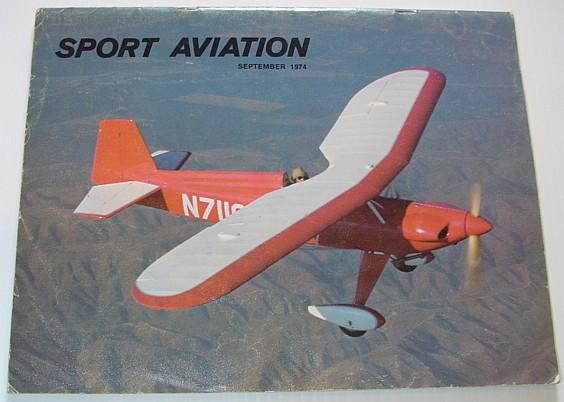 Image for Sport Aviation Magazine - September 1974