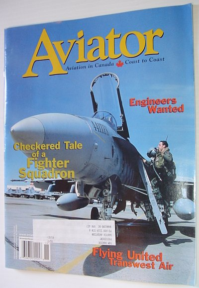 Image for Aviator Magazine: November/December 2002 - Feature Article on the 441 Tactical Fighter Squadron