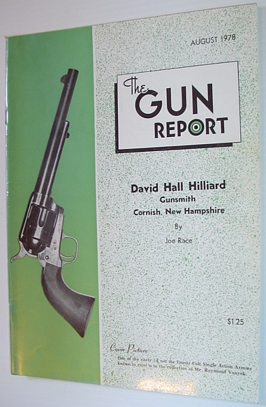 The Gun Report Magazine - August 1978, Multiple Contributors