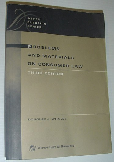 Image for Problems and Materials on Consumer Law (Aspen Elective Series)