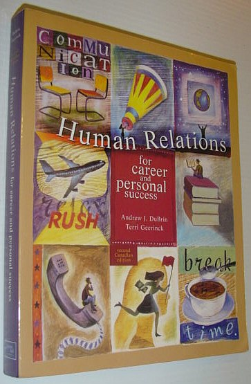 Image for Human Relations for Career and Personal Success, Canadian Edition