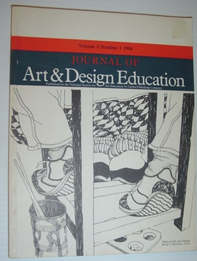 Journal of Art & Design Education: Volume 3, Number 1, 1984, Multiple Contributors