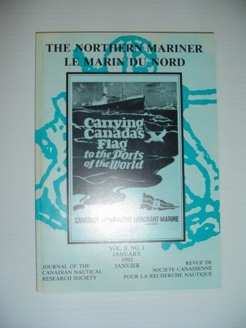 Image for The Northern Mariner: Journal of the Canadian Nautical Research Society - January 1992