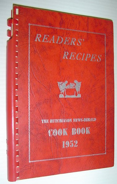 Image for The Hutchinson News-Herald Cook Book 1952: Readers' Recipes