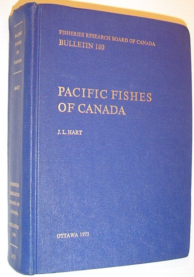 Image for Pacific Fishes of Canada - Bulletin 180, Fisheries Research Board of Canada