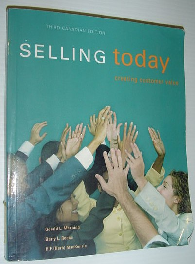 Image for Selling Today Third Canadian Edition