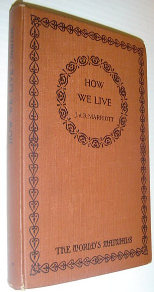 Image for How We Live - The World's Manuals