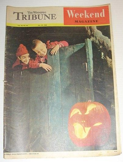 The Winnipeg Tribune - Weekend Magazine, October 29, 1960, Multiple Contributors