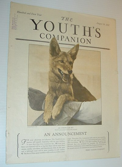 The Youth's Companion, August 18, 1927, Multiple Contributors