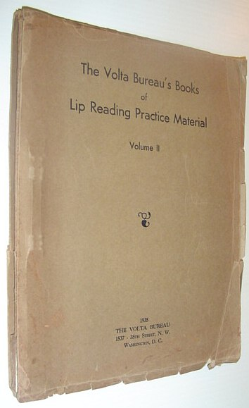 Image for The Volta Bureau's Books of Lip Reading Practice Material: Volume II (2)