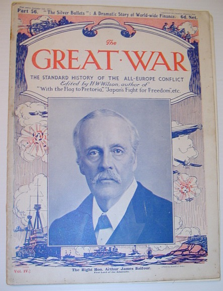 "Image for The Great War - The Standard History of the All-Europe Conflict - Part 56, ""The Silver Bullets"", A Dramatic Story of World-wide Finance, September 11th,1915"
