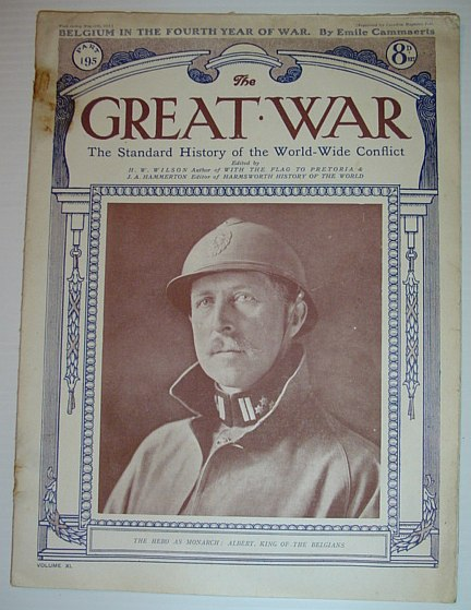 The Great War - The Standard History of the World-Wide Conflict: Part 195, May 11th, 1918  -  Belgium in the Fourth Year of War, Multiple Contributors