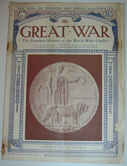 The Great War - The Standard History of the World-Wide Conflict, Part 212: 7 September 1918 -  The Roll of Honour, 1917, Fully Illustrated, Multiple Contributors