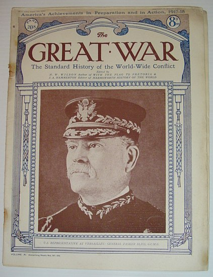 Image for The Great War - The Standard History of the World-Wide Conflict, Part 208: August 10th, 1918 -  America's Achievements in Preparation and in Action, 1917-18